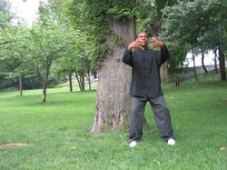 Qigong standing meditation