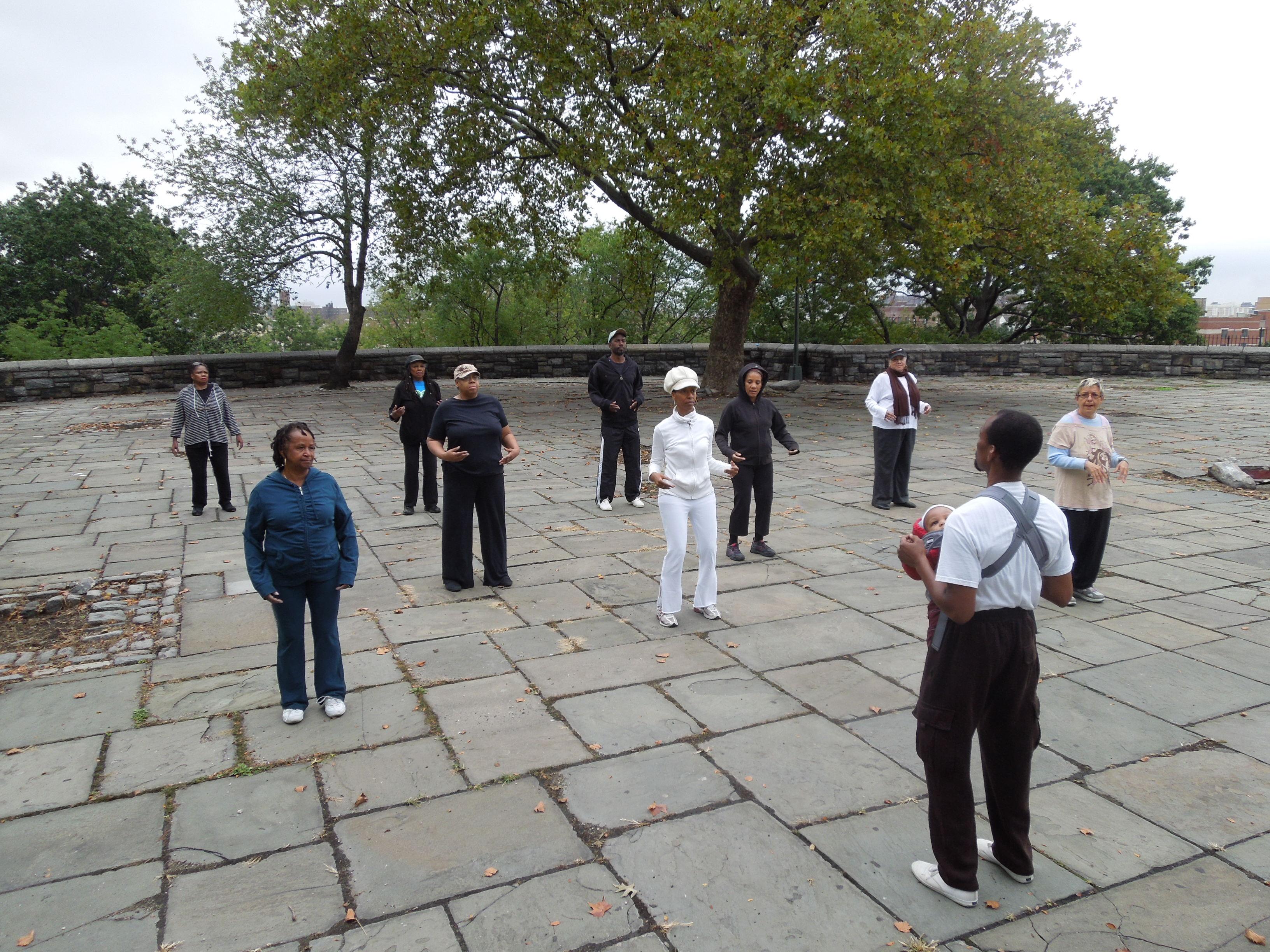 Taijiquan class