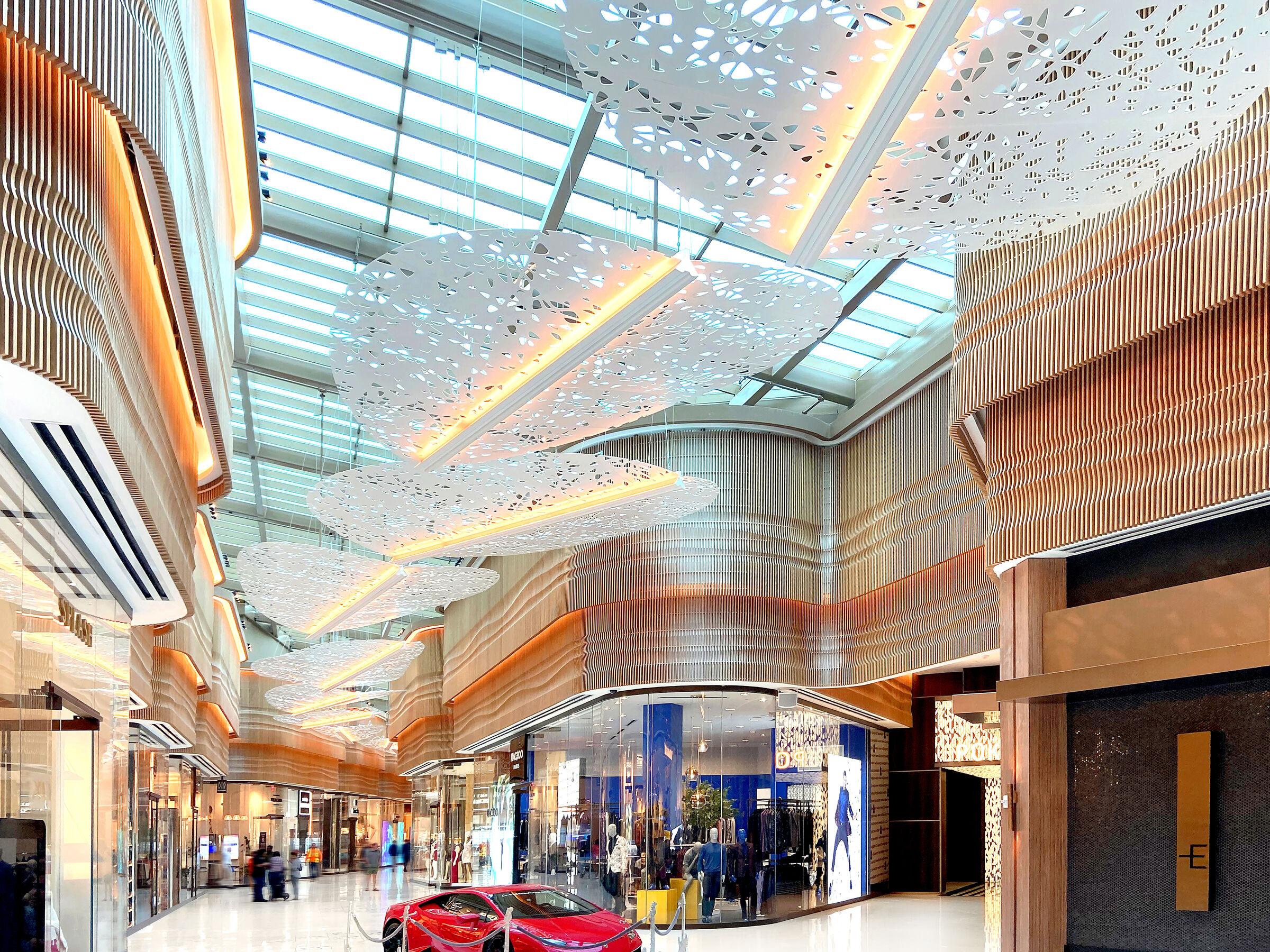 Intérieur Galeries marchandes
