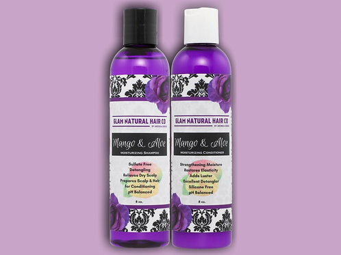 Mango & Aloe Moisturizing Shampoo and Conditioner