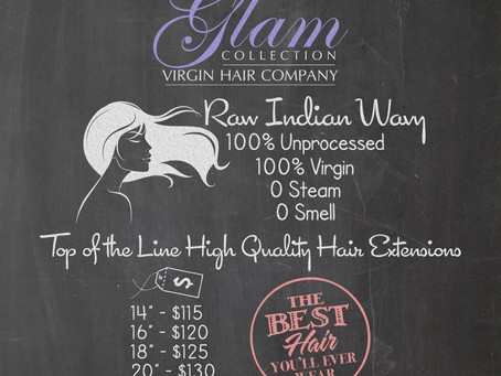The Glam Collection Raw Indian Wavy