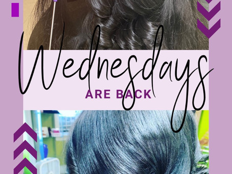 Wednesday Availability Added!