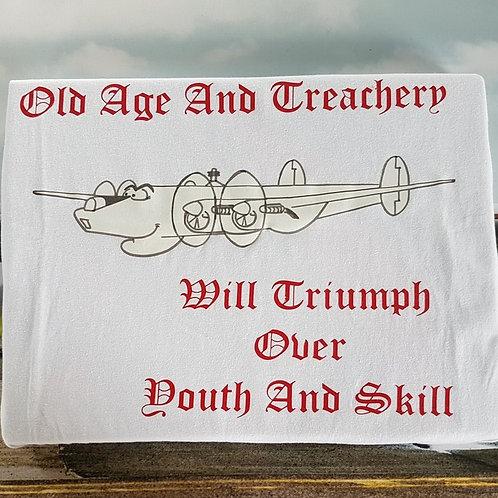 "Shackleton Slogan T-Shirt ""Old Age..."""