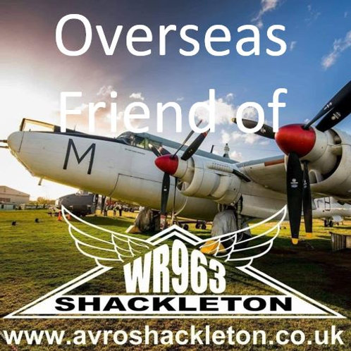 Friend of WR963, One Year (Overseas)
