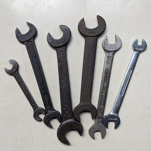 Single Whitworth Open-Ended Spanner - Choose Size
