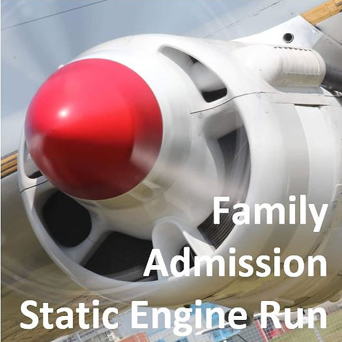 Family Admission - Engine Run (2 Adults + 2 Children)