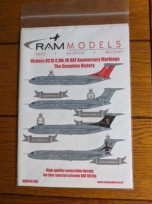 Model Decals Set - VC10 1:144