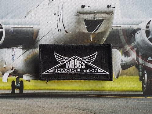 """WR963 Shackleton"" Logo Patch"
