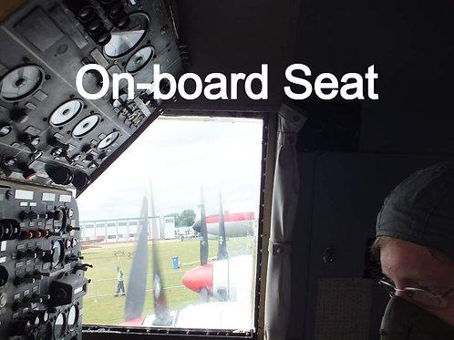 On-board Seat - Engine Ground Run