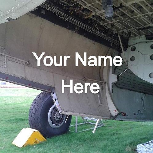 Bomb Door Name (1 Year)