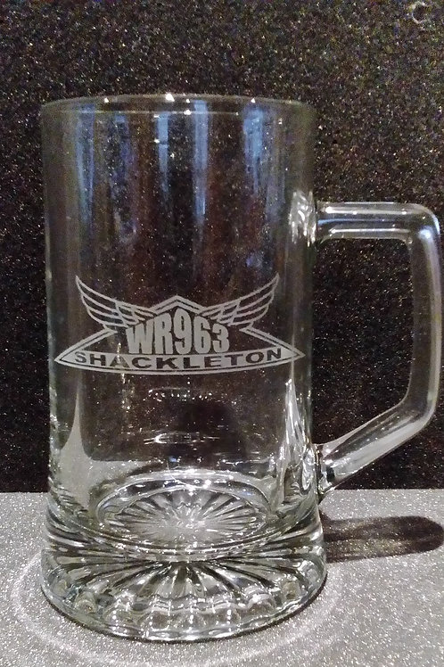 WR963 Glass Tankard (Various Decorations)