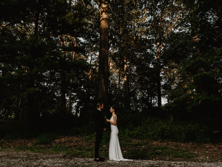 Clean and Classic Elopement