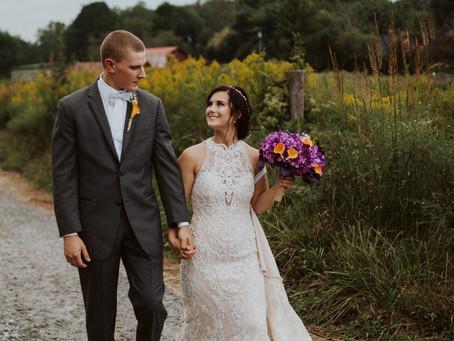 Backyard Mountain Wedding [Macey + Brendan]