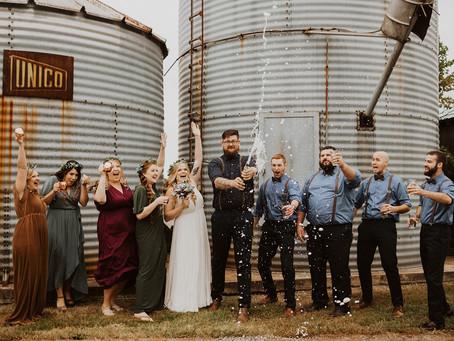 Starlight Meadows Intimate Barn Wedding
