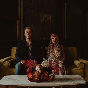 Roller Disco Retro Elopement