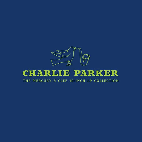 """Charlie Parker - The Mercury & Clef (10"""" Lp Collection Box Limited Edt.)"""