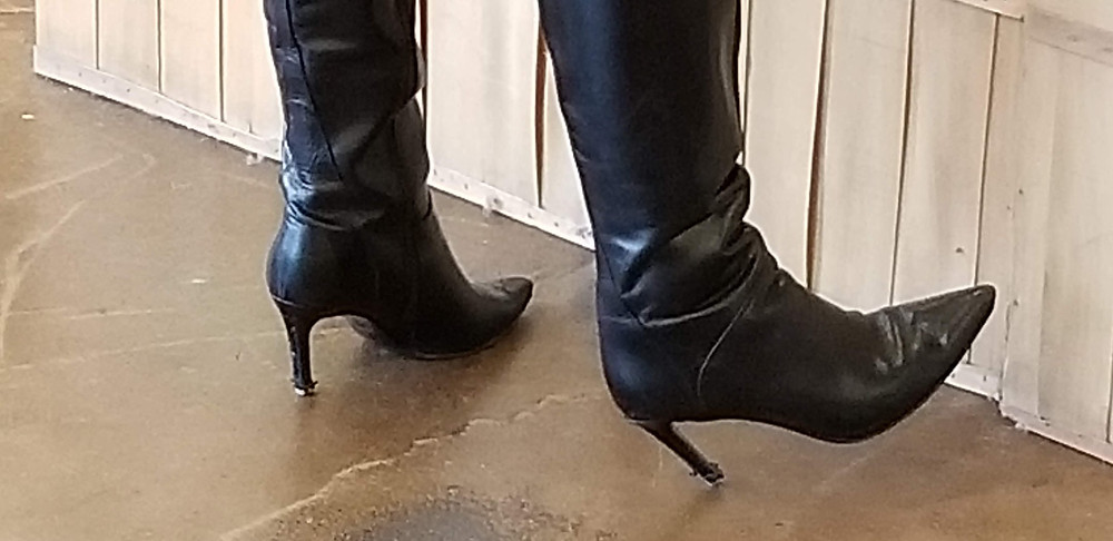 Boot heels need love too
