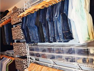 Anatomy of an organized closet