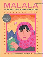 Malala, a Brave Girl from Pakistan/Iqbal, a Brave Boy from Pakistan by Jeanette Winter