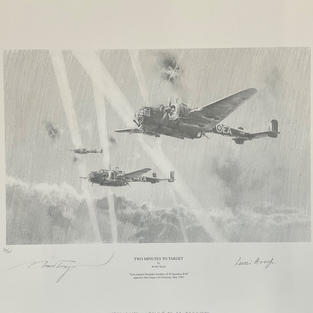 6th Aug 10am - WW2 RAF Military Autograph Auction Aces Bomber Command Luftwaffe Covers Prints Books