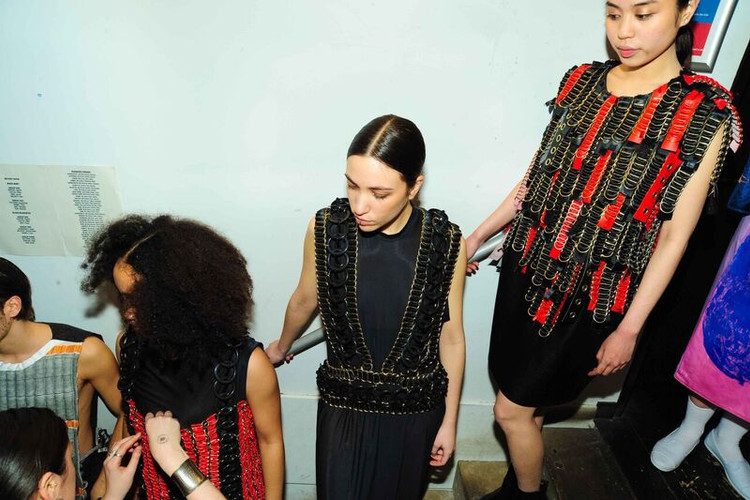 Backstage at GSA Fashion Show - Jade Armstrong ©