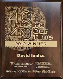 David Inniss - Sacramento 40 Under 40
