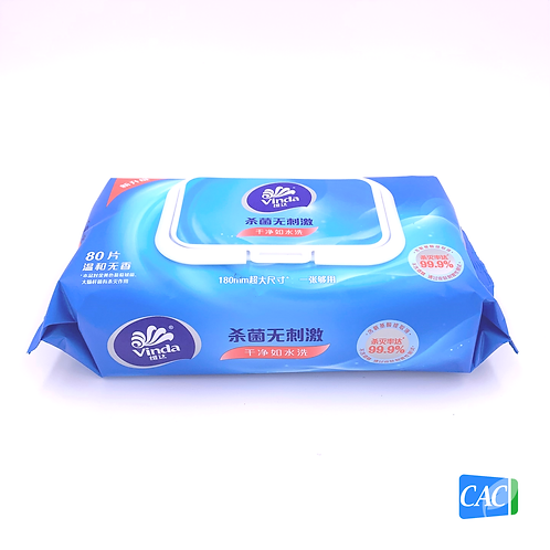 VINDA WET WIPES (12 PACKS/CASE)
