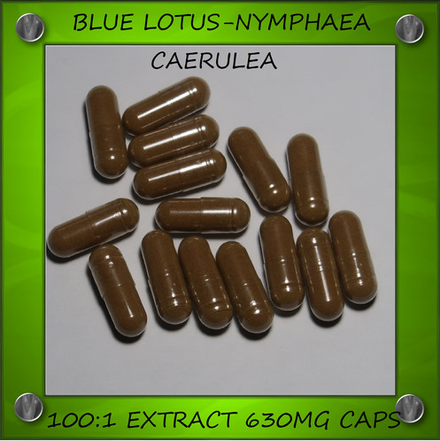 Organic 1001 Blue Lotus Extract Capsules