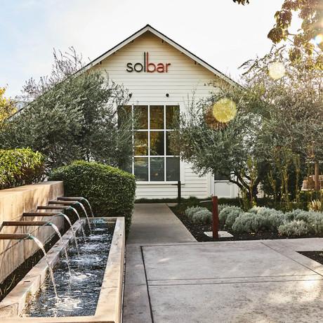 Solbar Restaurant, Calistoga CA