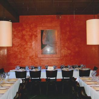 Venetian Plaster restaurant