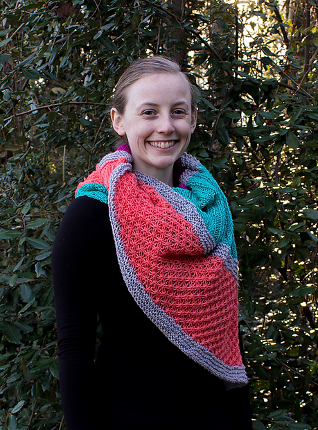 remembering summer shawl