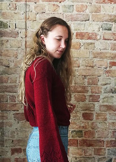 Primavera sweater by Renate Dziedataja
