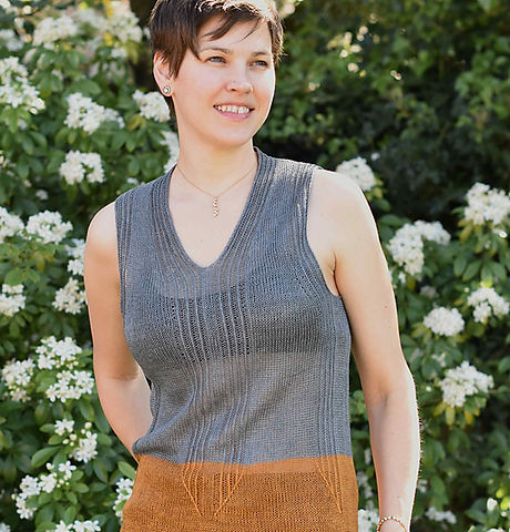 Sogo top by ZaneteKnits