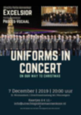 Uniforms in Concert 2019 Concertposterv3