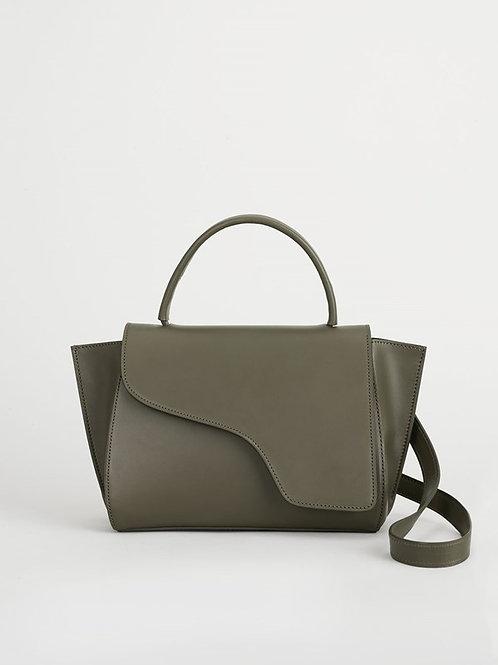 Turtle-green Handbag