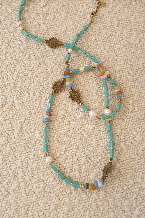 Amarula necklace aqua