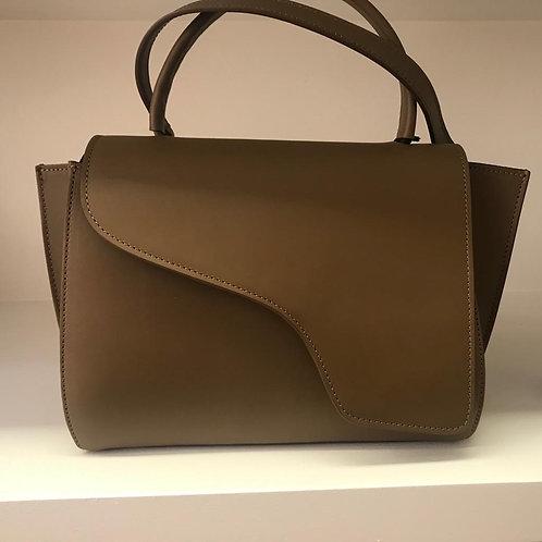 Khaki-brown Handbag