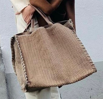 Let&Her bag taupe