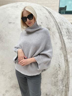 Panicale poncho grey 1.jpeg