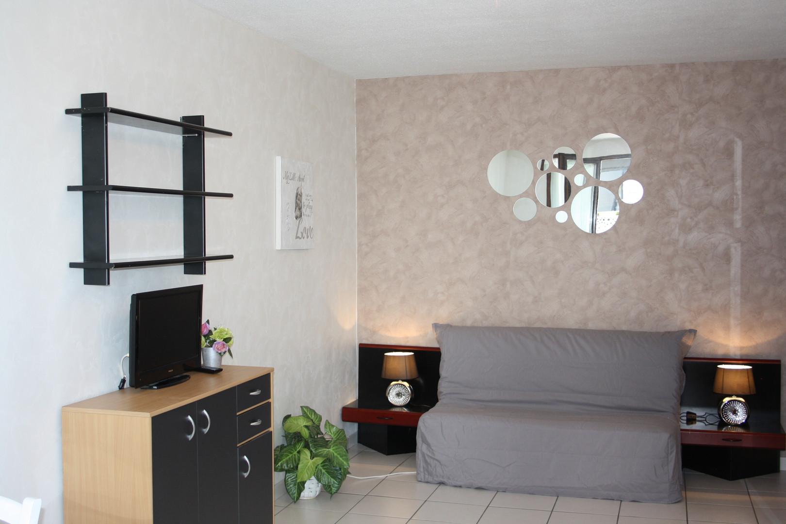 Séjour appartement les Toits d'Annecy