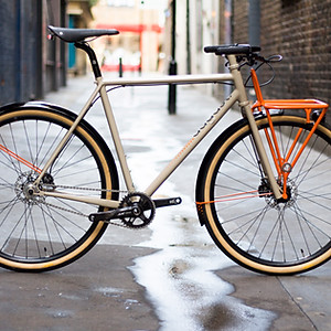 Award-Winning Beige Town Bike
