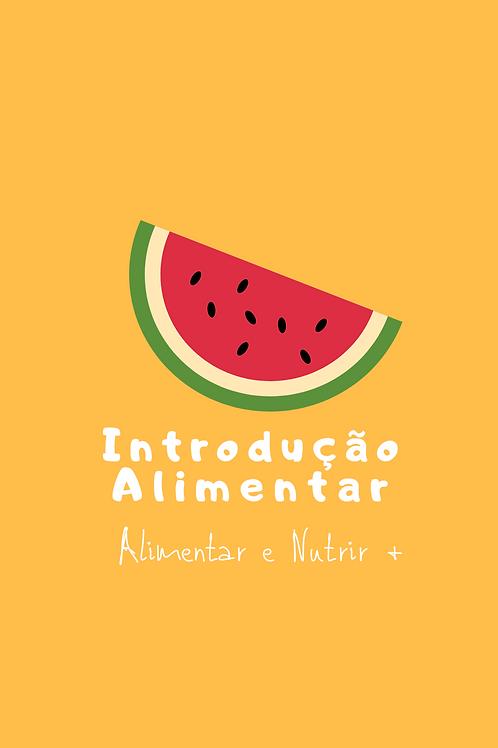 E-book Introdução Alimentar Guia Prático