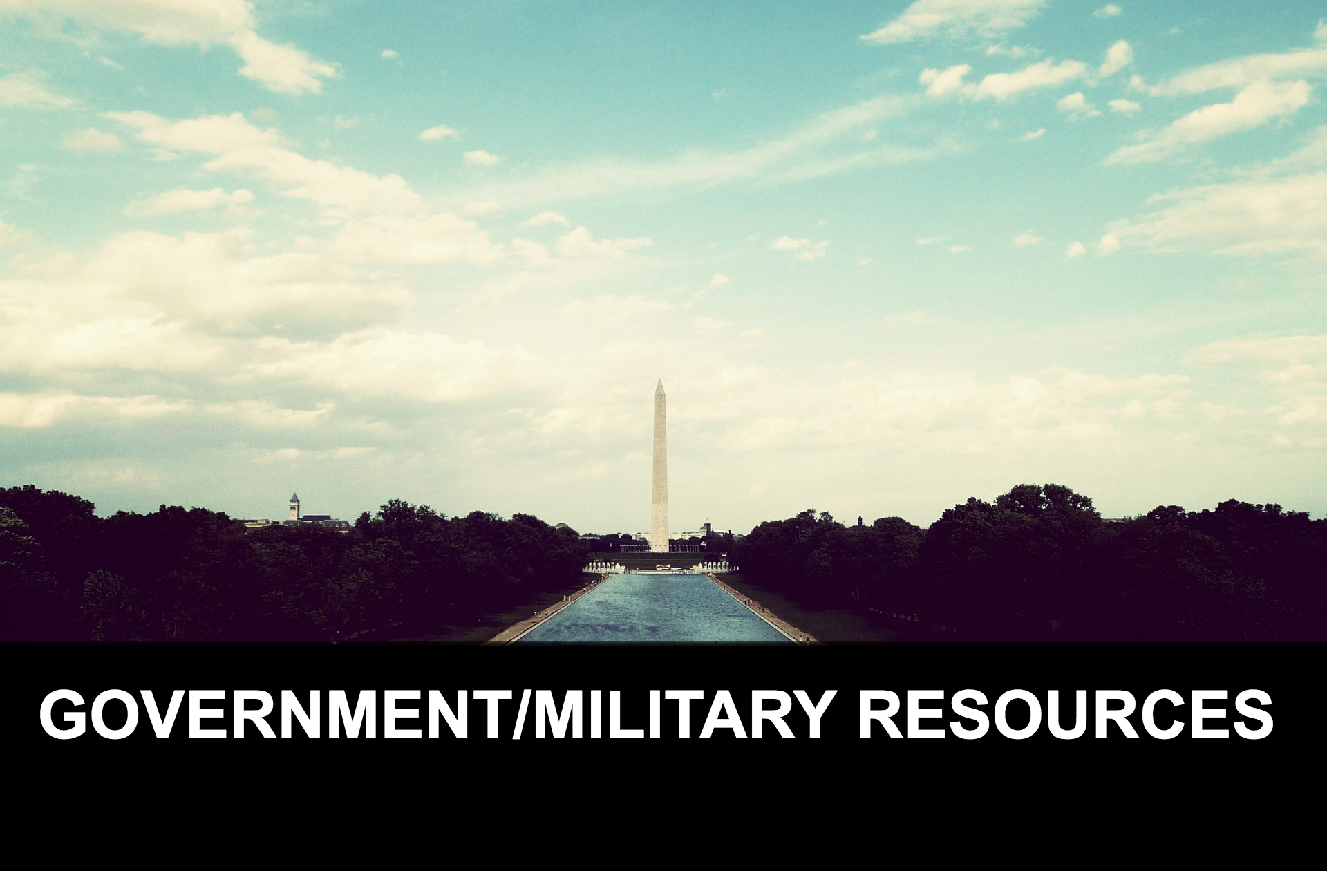 GOV-MIL RESOURCES