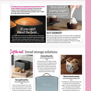"""""""3 of the best... bread storage solutions"""" by Baking Heaven"""