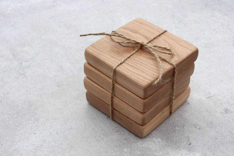 THE FORAGERS COTTAGE COASTERS WITH TWINE.jpg