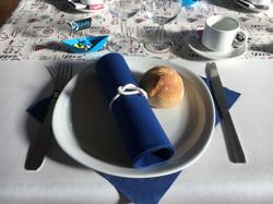 Présentation assiette