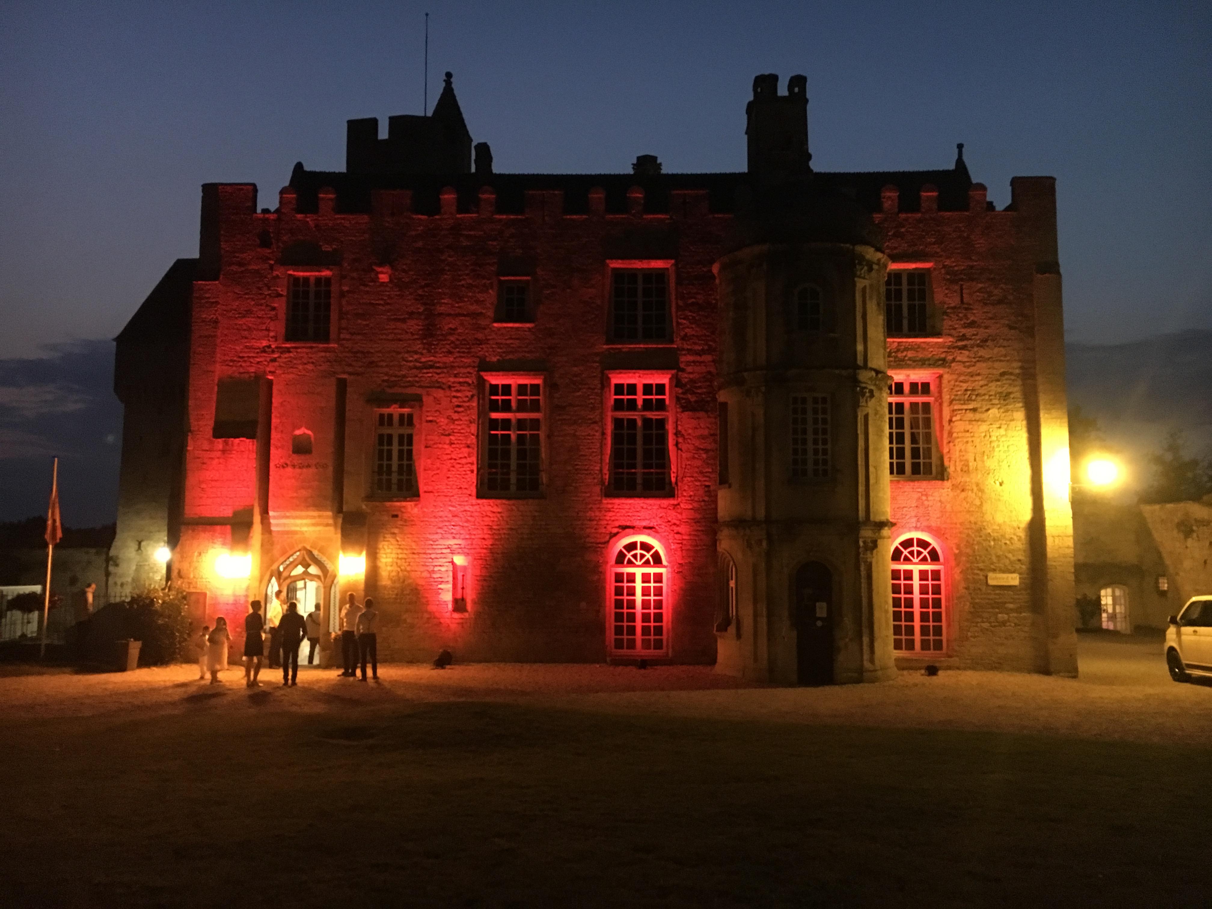 Eclairage Chateau