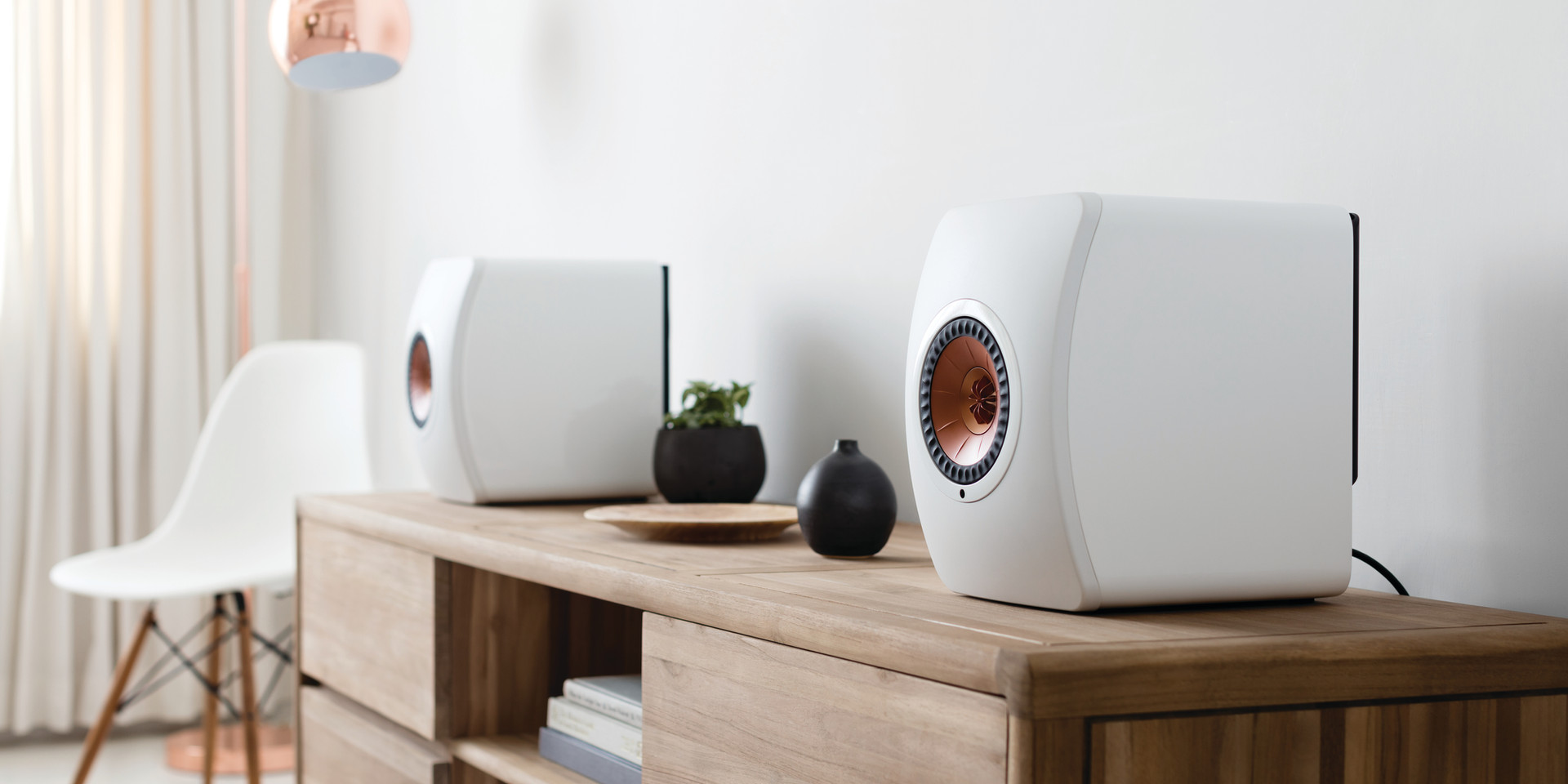 KEF LS50W Speakers at The Audio Video Boutique