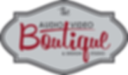 GRAY The AudioVideoBoutique Logo_Color V