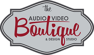 GRAY The AudioVideoBoutique Logo_Color V